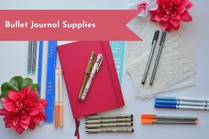 Get all the necessary supplies to start your minimalist bullet journal.
