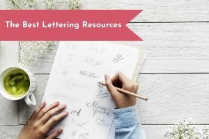 Want to add lettering to your Bullet Journal? Discover some free and paid lettering resources that will help you practice your lettering techniques!