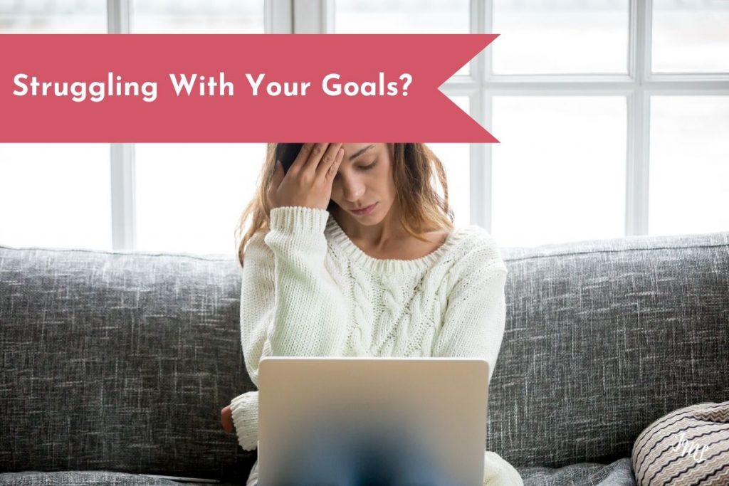 Have you been struggling with your goals? Learn the top five reasons people struggle with their goals, and how you can overcome them in simple steps.