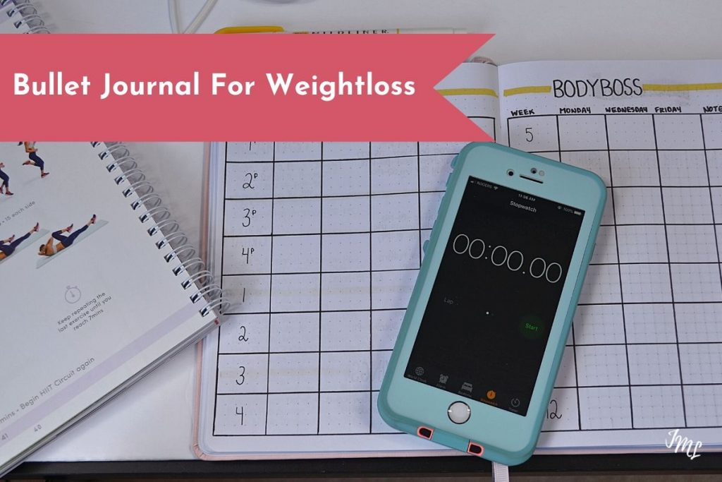 Trying to lose weight? Learn how to leverage your Bullet Journal layouts for your weight loss specific goals!