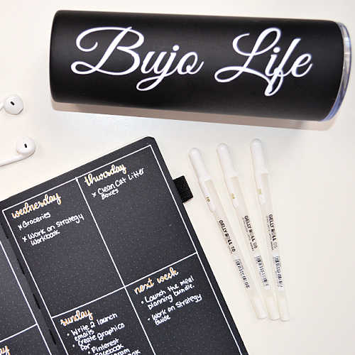 Get creative with your Bullet Journal gift ideas, and make a unique custom gift with a cute Bullet Journal quote!